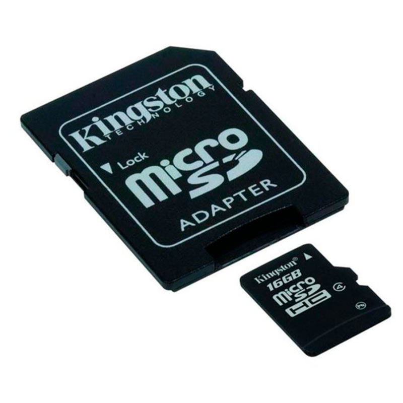 Image of Kingston 16GB SD-kort - Inkl. adaptor