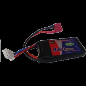 LiPo batteri - 7,4 volt 350 mAh
