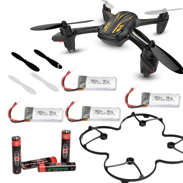 Startpakke - Hubsan X4 mini-drone