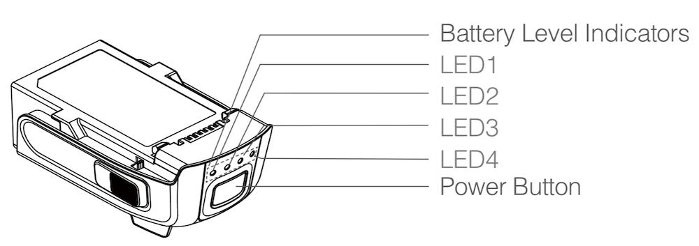 DJI Spark batteri