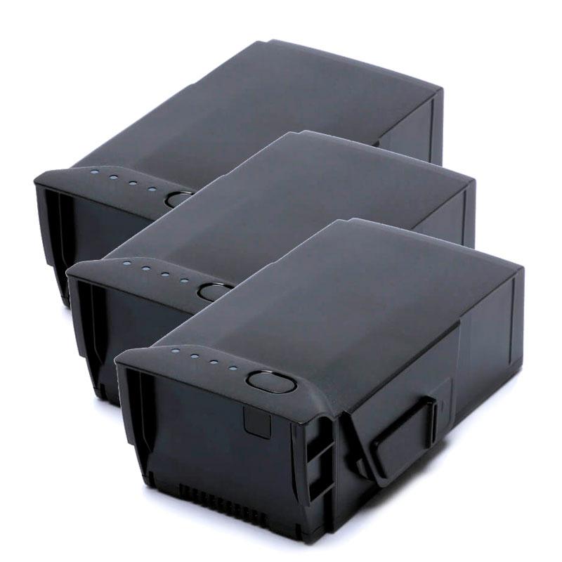 Image of PAKKE: 3 stk. batterier til DJI Mavic Air