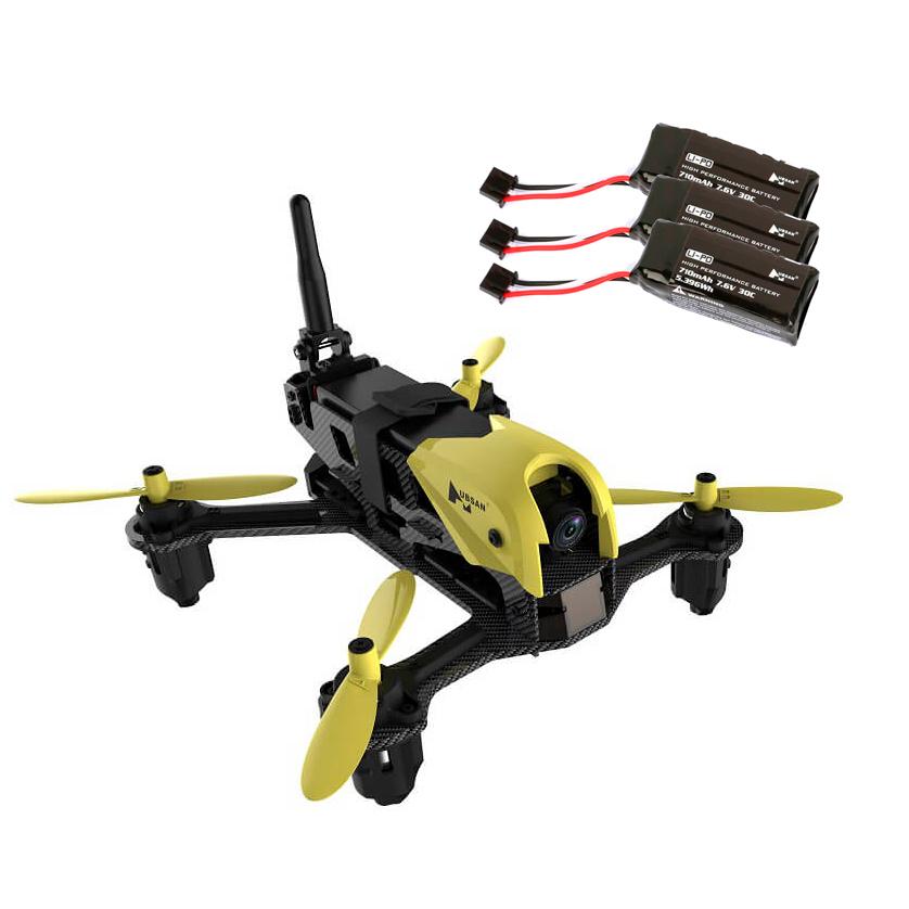 Image of PAKKE: Hubsan X4 Storm H122D FPV + 3 ekstra batterier