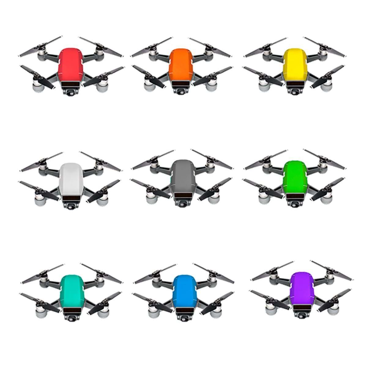 Image of   Skins til DJI Spark - PGYTECH Color Skins 9-Pack
