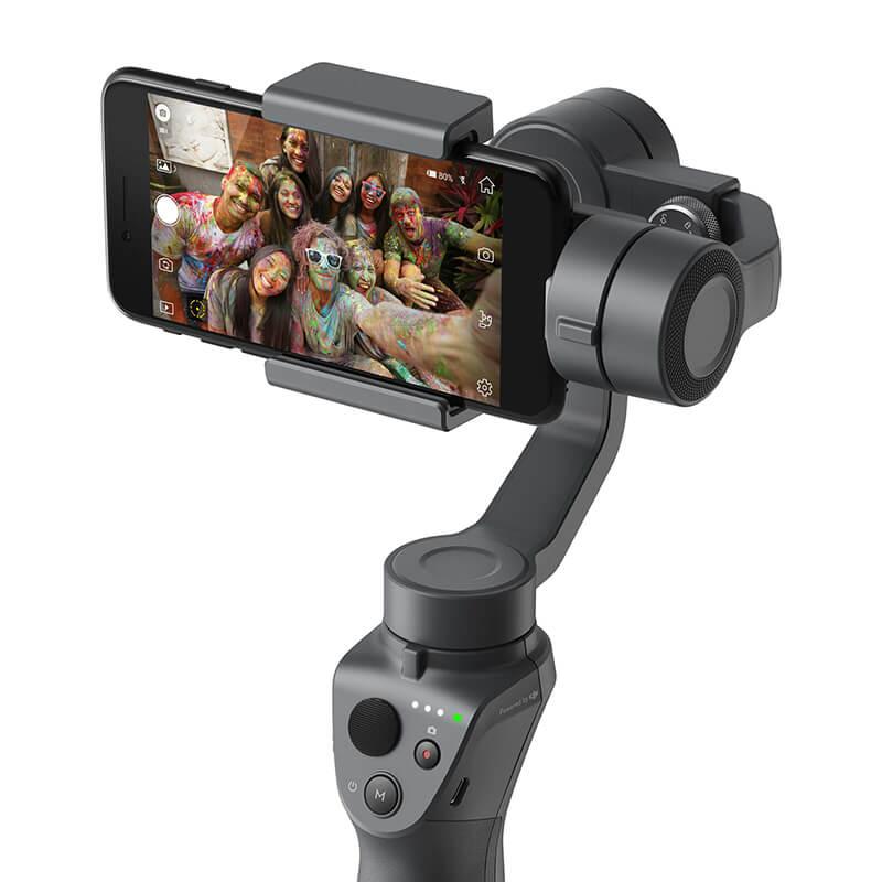 Image of   DJI Osmo Mobile 2 - Håndholdt gimbal til smartphone